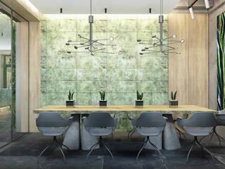 Locaux commerciaux & Magasin tropicaux par Zikzak architects Tropical
