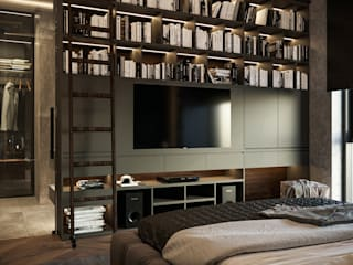 Chambre moderne par Zikzak architects Moderne