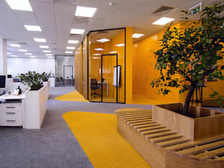 Zikzak Bangunan Kantor Modern