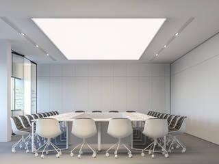 Espaces de bureaux minimalistes par Zikzak architects Minimaliste