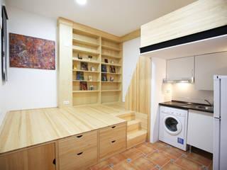 la alacena segoviana s.l Small bedroom Solid Wood