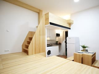 la alacena segoviana s.l Stairs Solid Wood