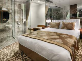 TAKSİM LİFE PLUS HOTEL PROJESİ Modern Yatak Odası MY LİFE İNTERİOR DESİGNER Modern