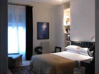 Piso en la Bonanova Dormitorios de estilo clásico de DyD Interiorismo - Chelo Alcañíz Clásico