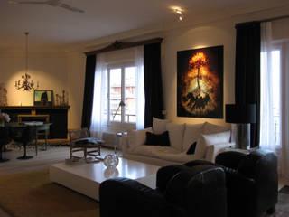 Piso en la Bonanova Salones de estilo clásico de DyD Interiorismo - Chelo Alcañíz Clásico