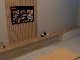 Projeto de Interiores por Matos Projetos de Engenharia e Empreendimentos Imobilários Ltda Moderno