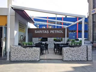 ASK MİMARLIK İNŞAAT – Kahve Dünyası Petrol İstasyonu: modern tarz , Modern