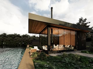 Maisons modernes par Zikzak architects Moderne