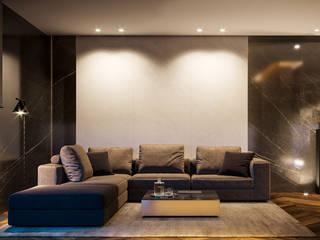 Salon moderne par Zikzak architects Moderne