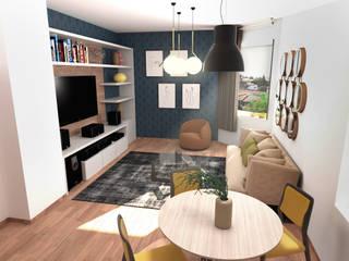 Nuovi scenari fiorentini Soggiorno moderno di FAD Fucine Architettura Design S.r.l. Moderno