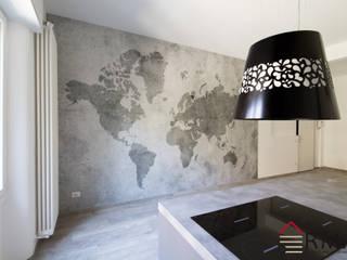 Ristrutturazione appartamento di 95 mq a Milano, Porta Romana di RMA srl - Ristrutturazioni da ManuAle Moderno