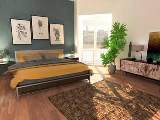 Nuovi scenari fiorentini Camera da letto moderna di FAD Fucine Architettura Design S.r.l. Moderno