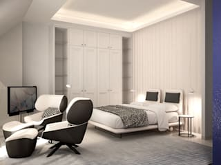 Modern style bedroom by DyD Interiorismo - Chelo Alcañíz Modern