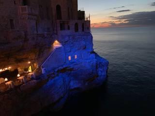 Suono del mare Obor S.r.l. Balcone, Veranda & Terrazza in stile mediterraneo