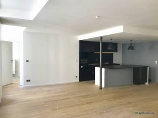 Appartement S02 3B Architecture Salle à manger moderne Blanc