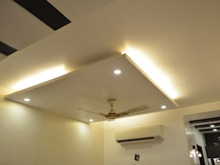 Residence at Rajouri Garden Classic style bedroom by Now the design studio Classic