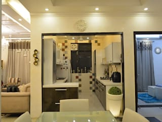 Residence at Rajouri Garden Classic style kitchen by Now the design studio Classic