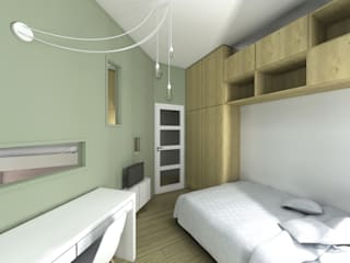 Lionel CERTIER - Architecture d'intérieur Спальня