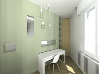 Modern style bedroom by Lionel CERTIER - Architecture d'intérieur Modern