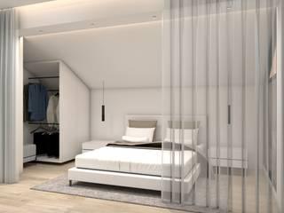 Angelourenzzo - Interior Design Chambre minimaliste