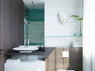 Modern bathroom by Студия дизайна Натали Modern