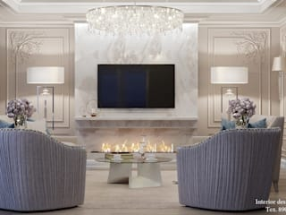 Classic style living room by Студия дизайна Натали Classic