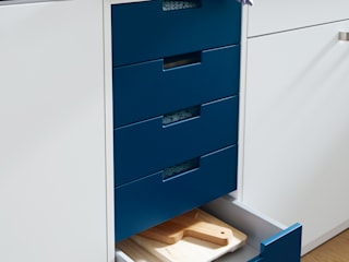 Spitzhüttl Home Company KitchenCabinets & shelves Blue