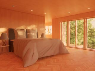 Heptonstall Eco-Home by Samuel Kendall Associates Limited Сучасний
