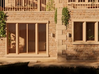 Heptonstall Eco-Home by Samuel Kendall Associates Limited Еклектичний