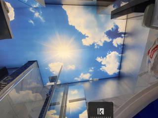Bedruckte Spanndecken Spanndecken Anbieter Moderne Badezimmer