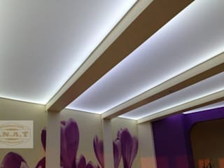 Lichtdecken Spanndecken Anbieter Moderner Flur, Diele & Treppenhaus