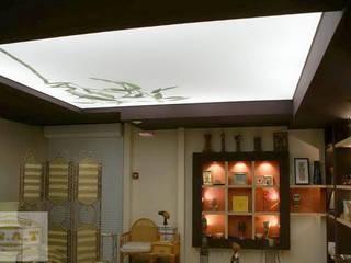 Lichtdecken Spanndecken Anbieter Moderne Wohnzimmer