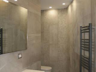 Soft Cocoon bathroom Bagno minimalista di Teresa Romeo Architetto Minimalista