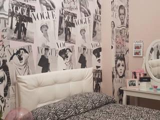 Glamour Girl Beauty Camera da letto eclettica di Teresa Romeo Architetto Eclettico