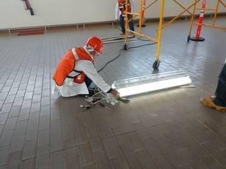 taller garcia arquitectura integral Pasillos, vestíbulos y escaleras industriales