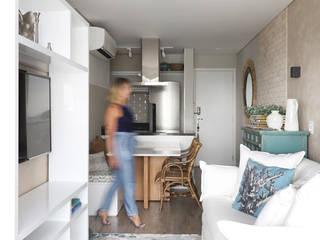 INSIDE ARQUITETURA E DESIGN Ruang Keluarga Gaya Mediteran