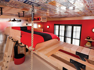 Adaptiv DC Boys Bedroom Wood Red