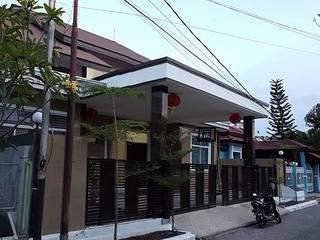 Balcon, Veranda & Terrasse tropicaux par 9 senses architecture Tropical