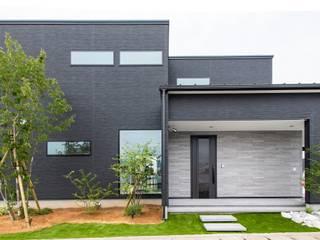 災害時に電気が使える LCCM認定のエコ住宅 モダンな 家 の プロジェクトホーム モダン