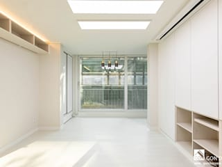 곤디자인 (GON Design) Modern living room White