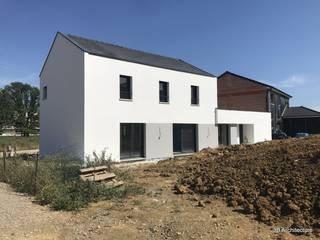 3B Architecture Detached home White
