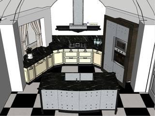 Progetto ambiente cucina di Arredamenti Due Palme Coloniale