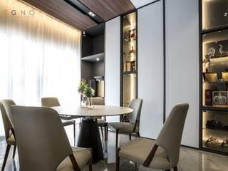 Residential Element Garden Legno ID & Construction Modern dining room