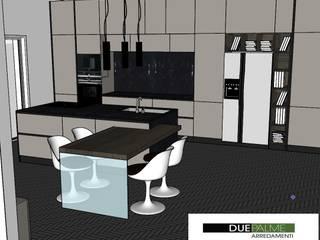 Progetto cucina di Arredamenti Due Palme Moderno