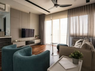 Residential The Tamarind 1300Sqf Legno ID & Construction Living room