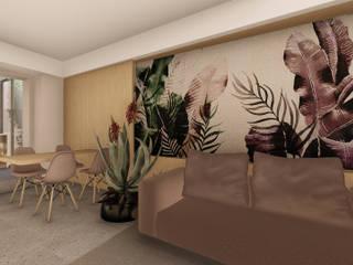 Moderne Wohnzimmer von ALESSIO LO BELLO ARCHITETTO a Palermo Modern