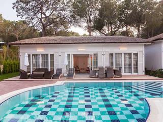 Nirvana Suit 110 m2 Antalya Çağlar Wood House Modern