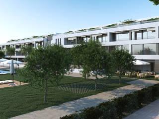 Residencia para Personas Mayores en Jávea Clínicas de estilo moderno de HoffmannWehr | Arquitectura y diseño interior Moderno