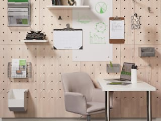 Adaptiv DC Office spaces & stores Wood White