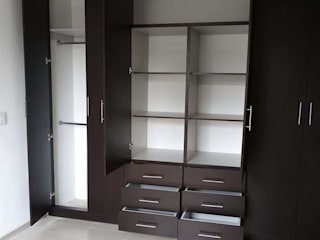 Eika Design Dressing roomWardrobes & drawers MDF Multicolored